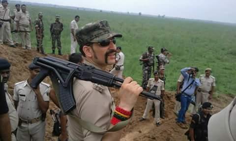 real life dabang police officer SSP Manu Maharaj