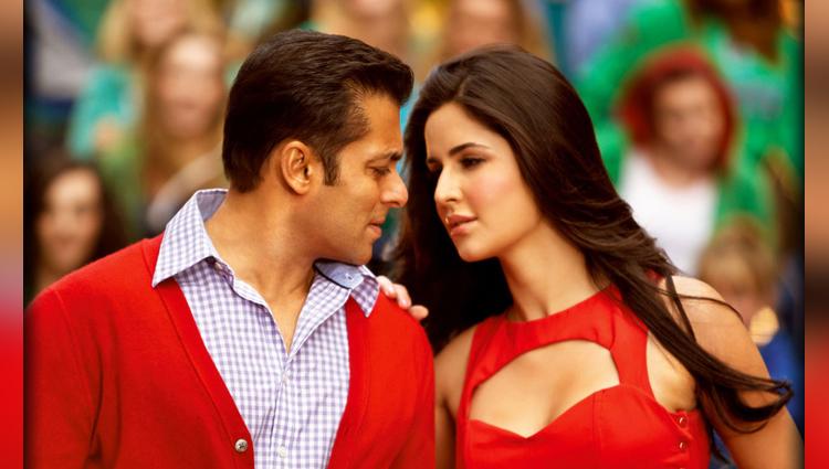 Salman Khan share photo of tiger zinda hai with Katrina Kaif