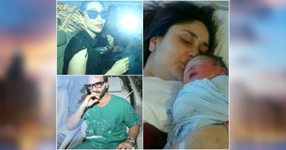 celebrities visit to Breach candy hospital for meet to kareena kapoor and her new born baby
