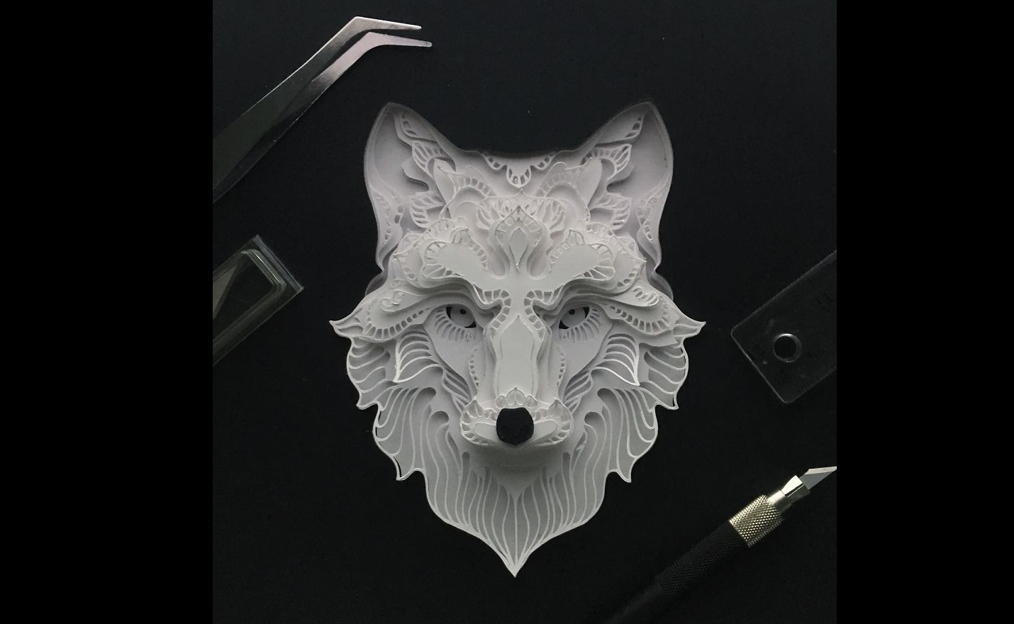 amazing paper cut art