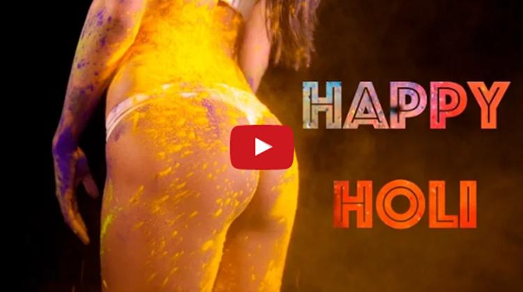 Poonam Pandey Happy Holi 2017