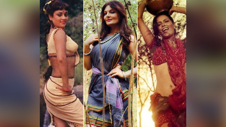 Deepshikha Nagpal copies mandakini and Zeenat Amans look