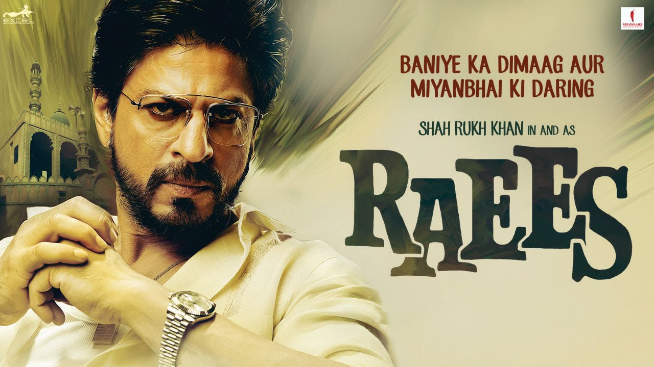new teaser of shahrukh upcoming movie raees