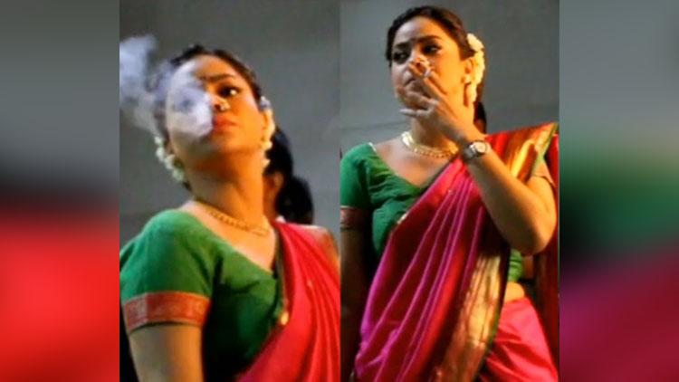 Popular TV Actress Caught Smoking Publicly