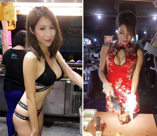 taiwan ex model viral on social media