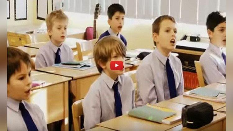 a day of teaching Sanskrit at London school