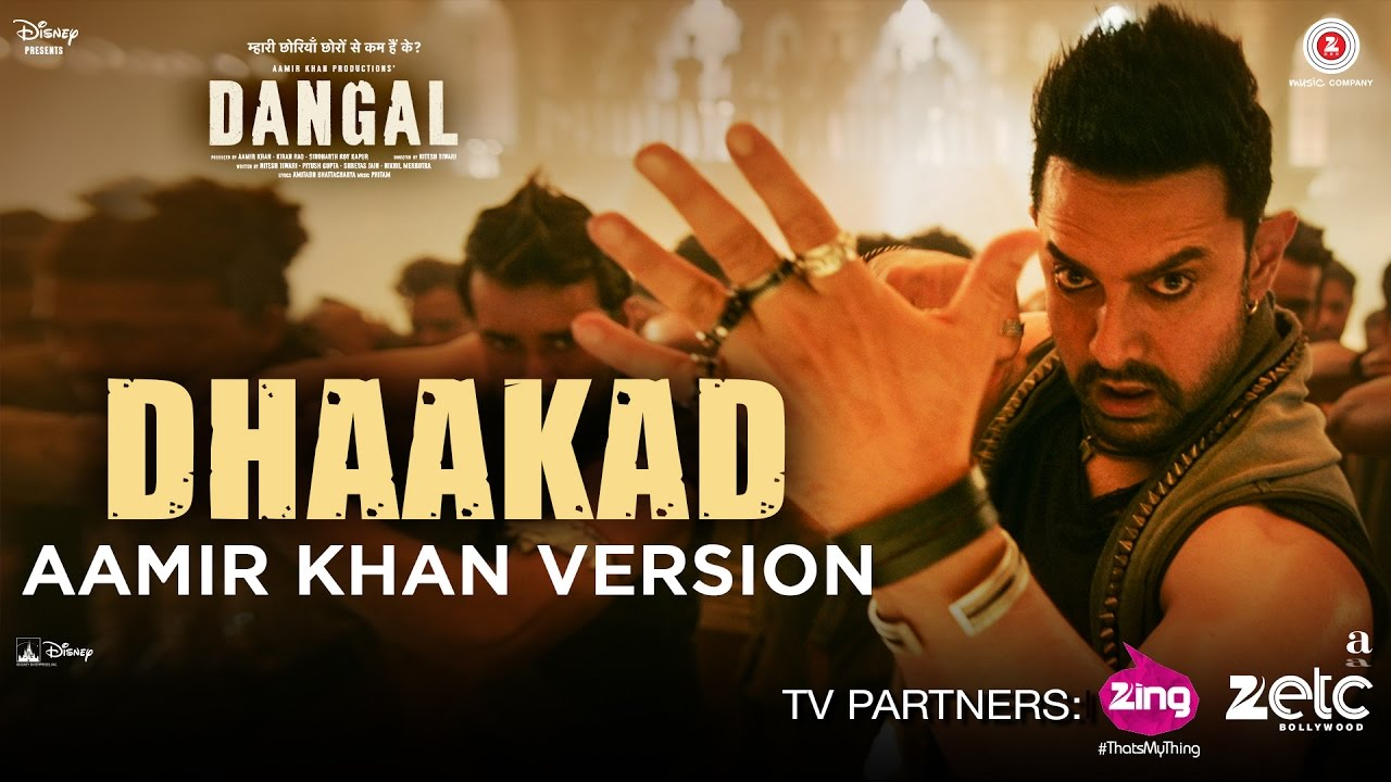 aamir version of dhaakad from dangal