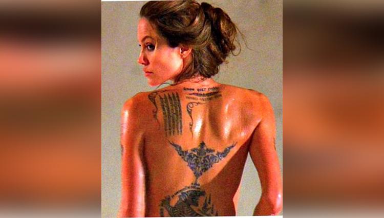 hollywood actress sexy tattoos