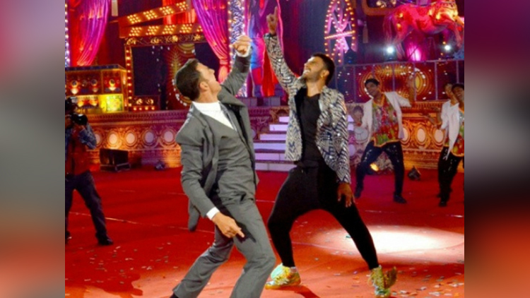 akshay kumar and ranveer singh wedding dance