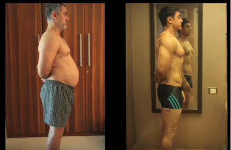 transforming video of aamir khan for dangal