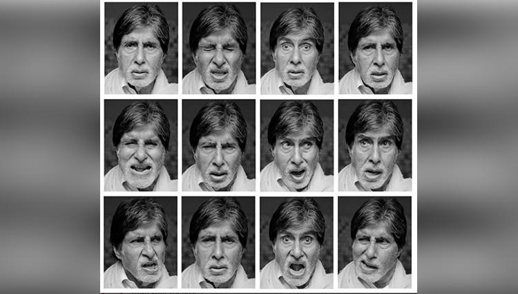 Amitabh Bachchan's insane look tests for his next film are cute