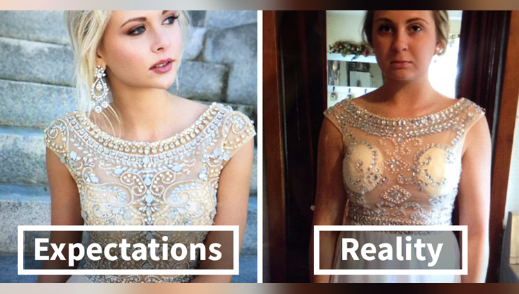prom dresses online vs reality