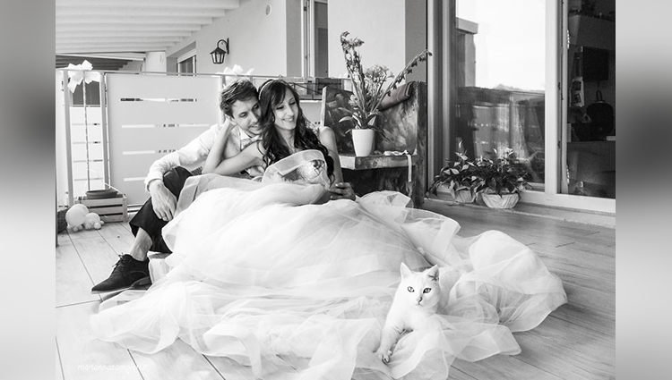 marianna zampieri post wedding photoshoot with cat arthur