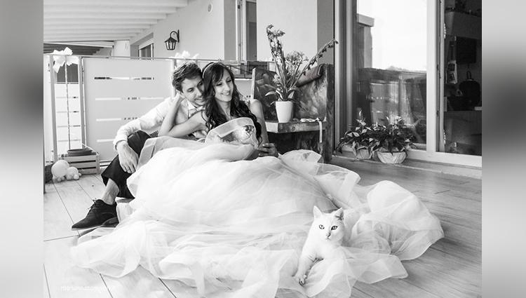 marianna zampieri post wedding photoshoot with cat arthur