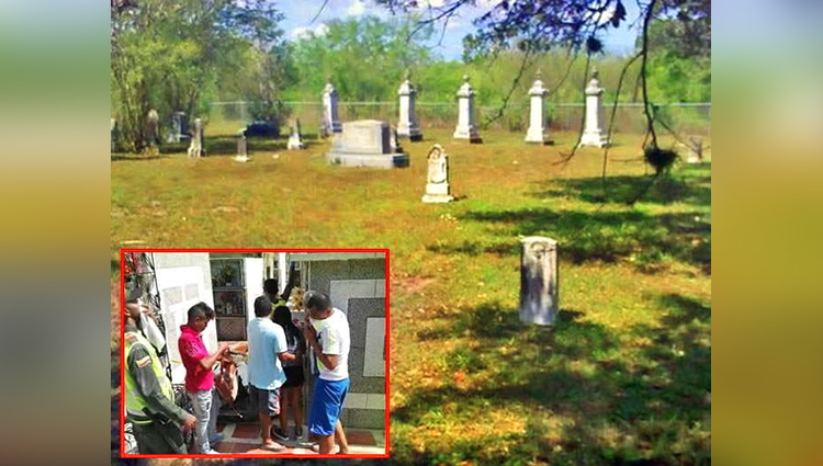 Man Reaches Graveyard In New Year To This Shocking Thing
