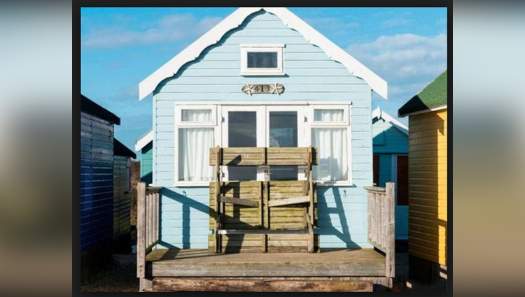 Britain's most expensive beach hut goes on sale