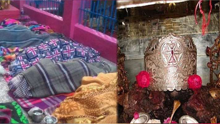 women become pregnant after sleep in the premises on the temple
