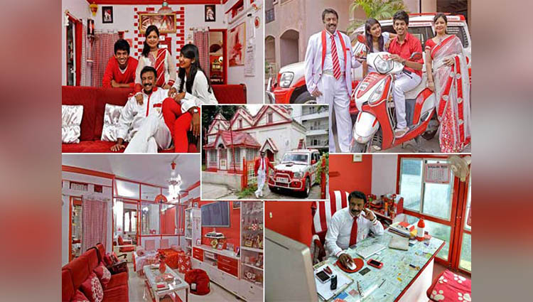 Sevenraj and Family Obsessed for Colors White Red and Number 7