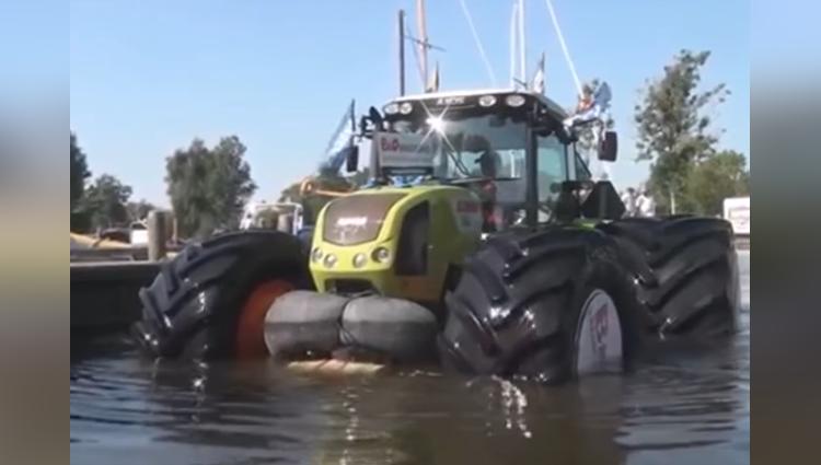 tractor cum ship