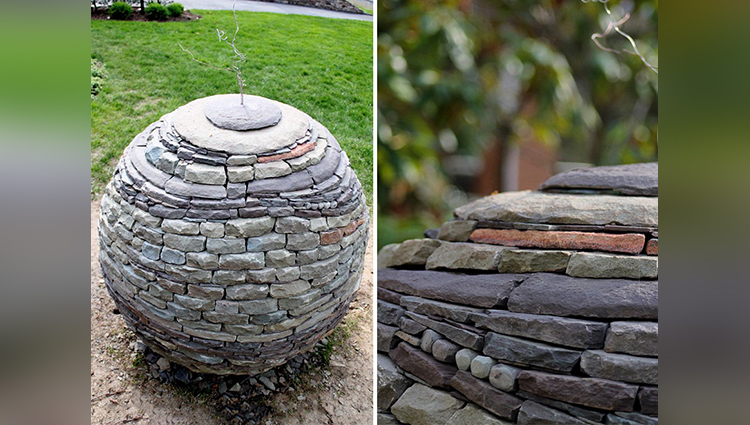 Landscaping Stone Art by Devin Devine