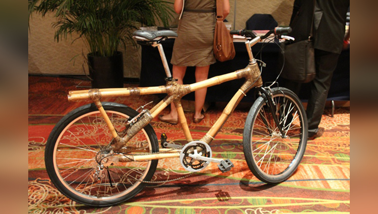 Ghanas Eco-Friendly Bamboo Bikes