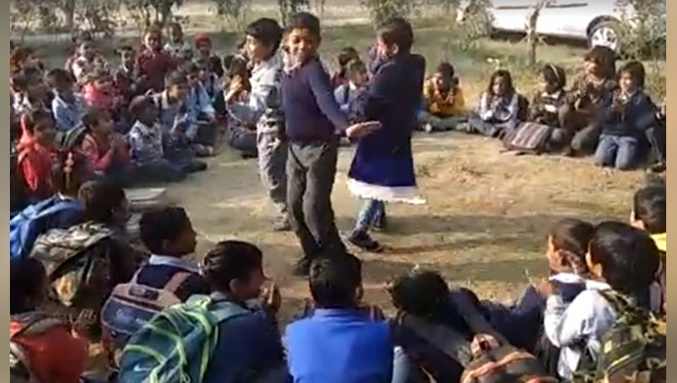 amazing school where student dancing and studying