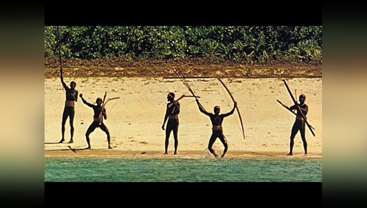 world last isolated humans in north sentinel island