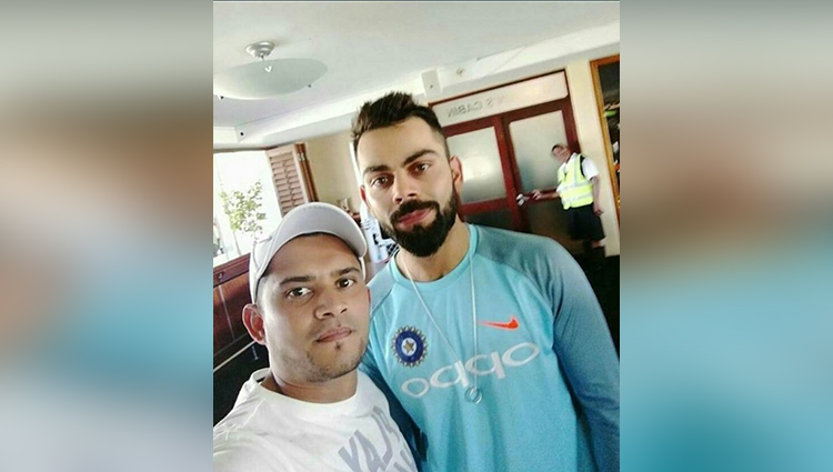 Virat Kohli Keeps His Wedding Ring Close to His Heart