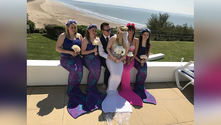 Mermaid Wedding photoshoot