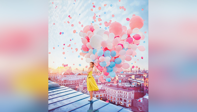 balloon inspiration fine art photography kristina makeeva