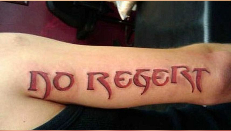 funny tattoos with wrong spelling