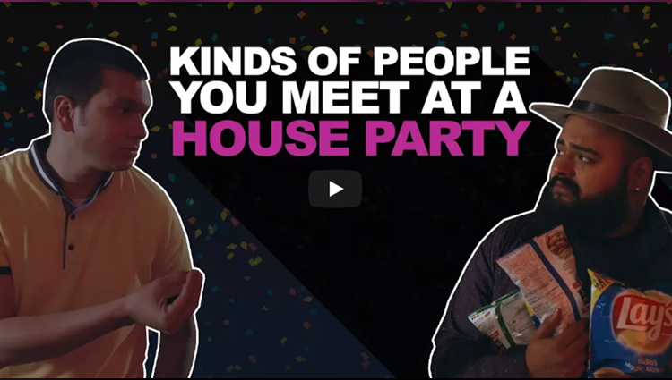 ScoopWhoop: Types Of People You Meet At A House Party