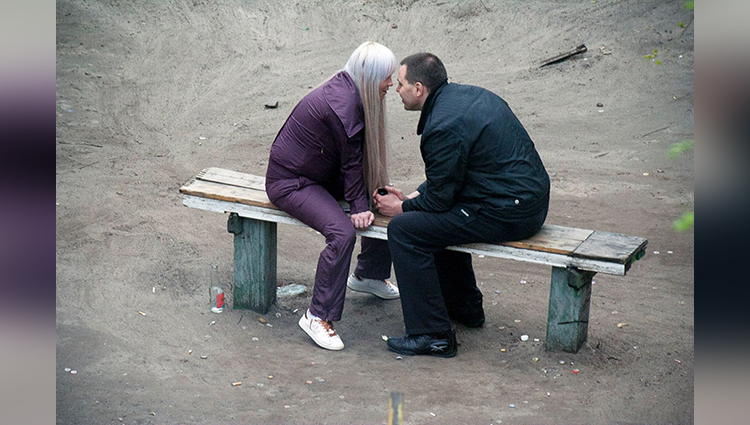 Yevhen Kotenko Spends 10 Years Photographing Same Bench