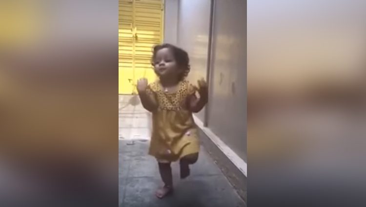 baby girl classical dance viral video