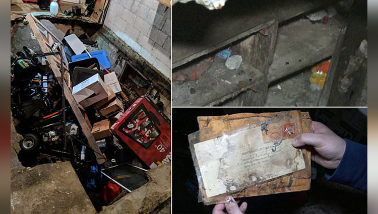 Sinkhole in Idaho couples garage uncovers a secret room