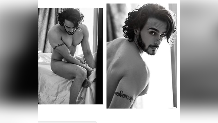 HOT HOT HOT! Actor Angad Hasija goes NUDE for a photoshoot
