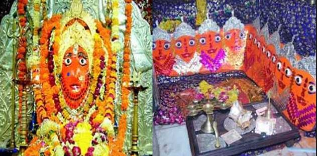 Devotees get rid of body trouble in Bhadwa Mata temple
