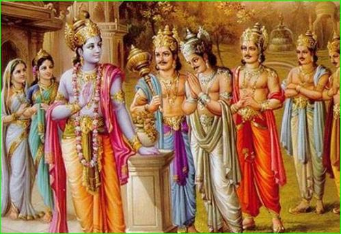 Do you know mahabharata what do the people dead body