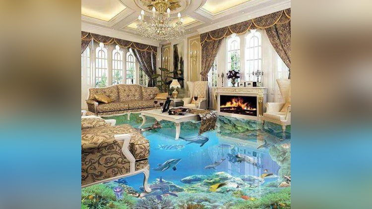 luxury villa with 3d Effects made with price of 225 crore