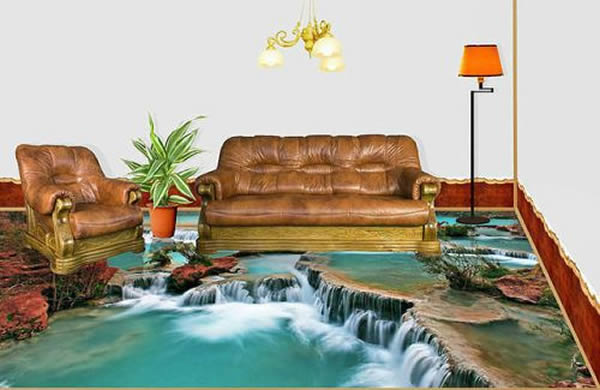 beautiful 3D Interior Floor Designs