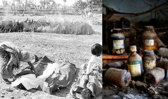 bhopal gas tragedy pictures
