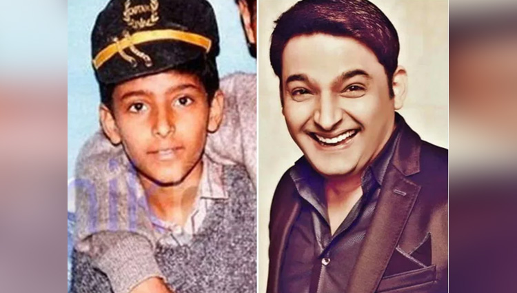 kapil sharma comedy show star cast childhood photos