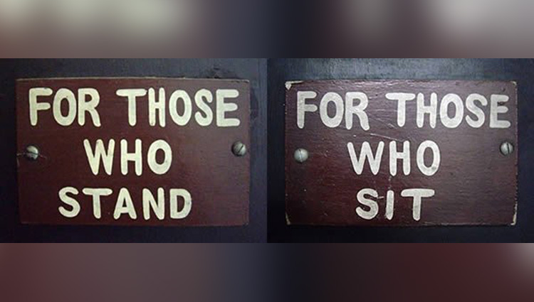 the Most funny Bathroom Signs Ever
