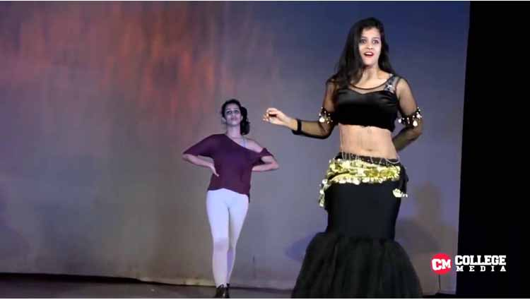 Beautiful Dance Performance By A College Student