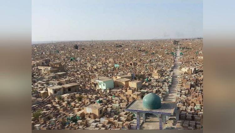 Worlds biggest graveyard
