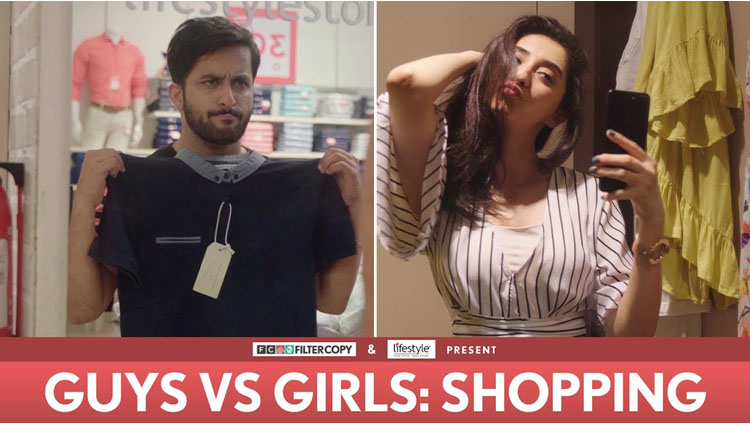 Video: Shopping Scenario Of Girls Vs Boys