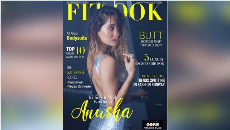 VJ Anusha Dandekar Flaunts Her Seductiveness On The Cover Of Fitlook