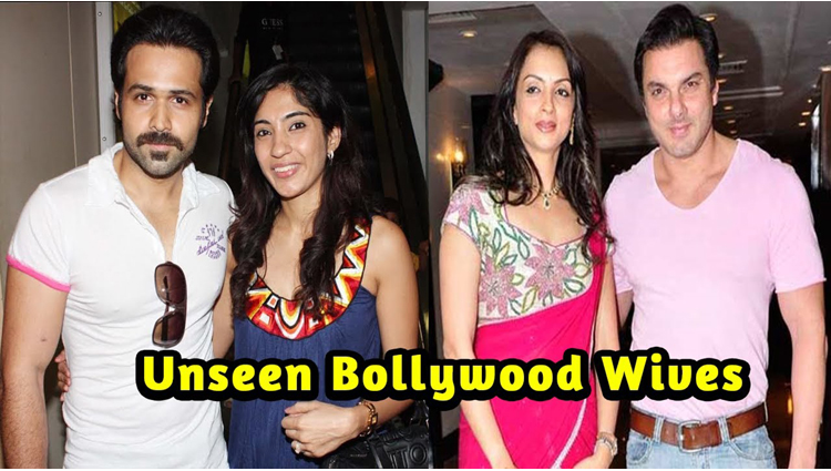 famous bollywood stars with unknown wives