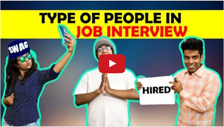 Type Of People in Job Interview