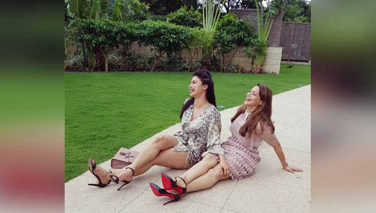 BFFs Mouni Roy and Aamna Sharif Are High On Fashion: Photos